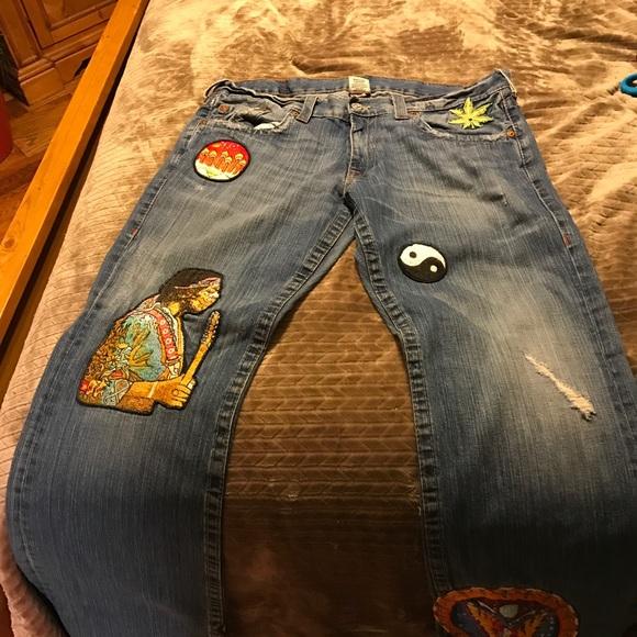 dff80876681e8 True Religion Jeans   Rare Jimi Hendrix Society Club   Poshmark